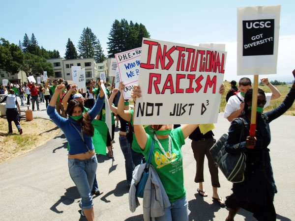 UCSC Charged With Disadvantaging Students, Faculty and Workers of Color