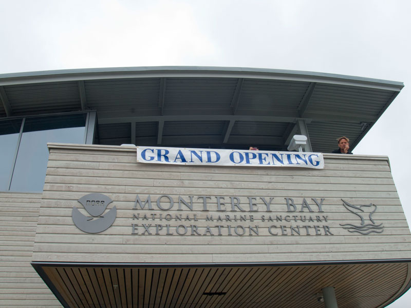 Grand Opening of Monterey Bay National Marine Sanctuary Exploration Center in Santa Cruz