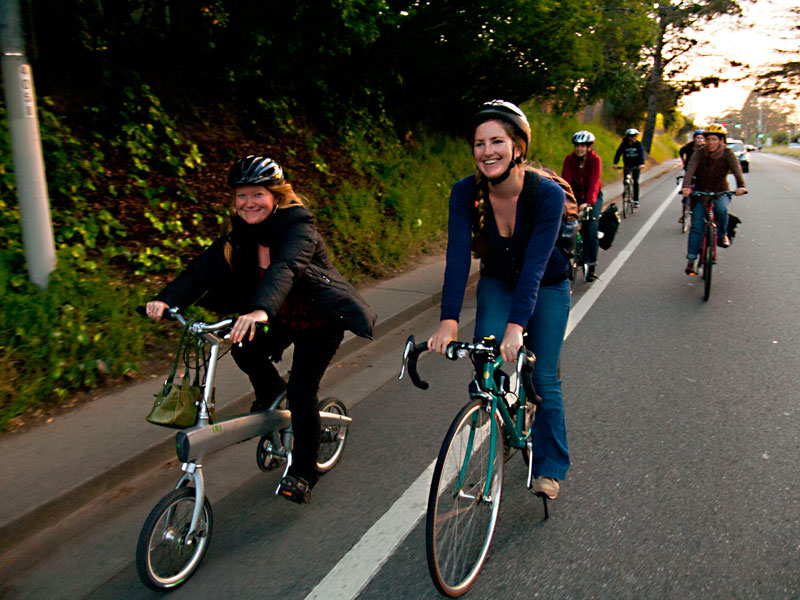 Pedal-Powered Revelry with Santa Cruz Bike Party